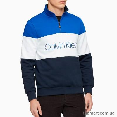 Спортивный свитер CALVIN KLEIN COLORBLOCKED  ZIP