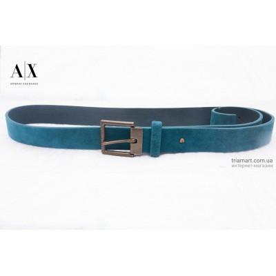 Ремень Armani Exchange Dark teal синий