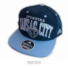 Кепка бейсболка Adidas MLS Sporting Kansas City