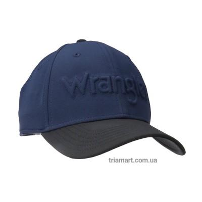 Кепка бейсболка Wrangler Snap Back Low Profile Logo синяя
