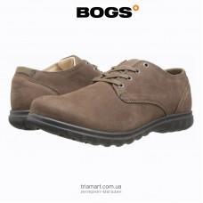 Ботинки Bogs Eugene Lace Leather туфли коричневые