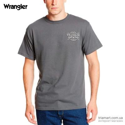 Футболка Wrangler Easy Way мужская серая