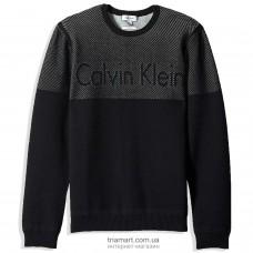 Свитер мужской Calvin Klein Color Block черный