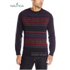 Мужской свитер NAUTICA PRINTED RIBBED