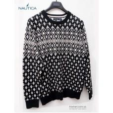 Свитер Nautica Black White Pull-Over Crewneck