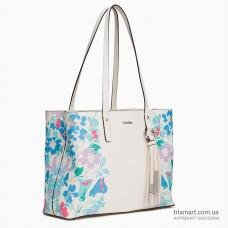 Сумка на плечо CALVIN KLEIN LEATHER FLORAL